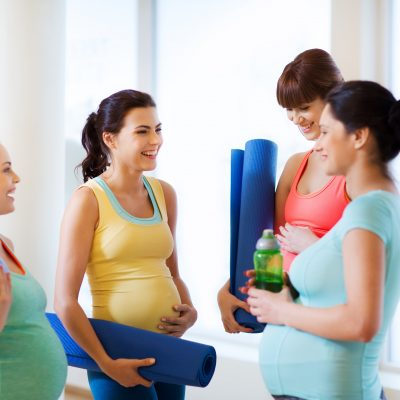Get physically and mentally prepared for birth and motherhood